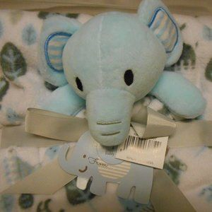 👶 New Baby 2pc blanket & Buddie Set Elephant